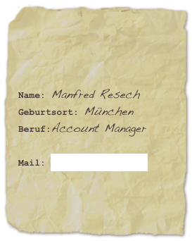 Name: Manfred Resech